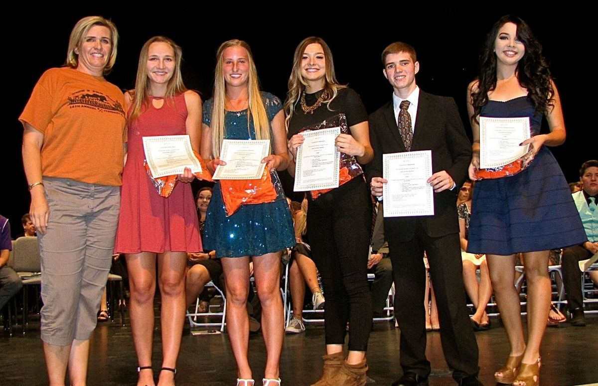 bdcd1542f4995 Lost Dutchman Scholarship recipients 2017 Apache Junction High School