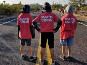 race crew 2018 Lost Dutchman Marathon