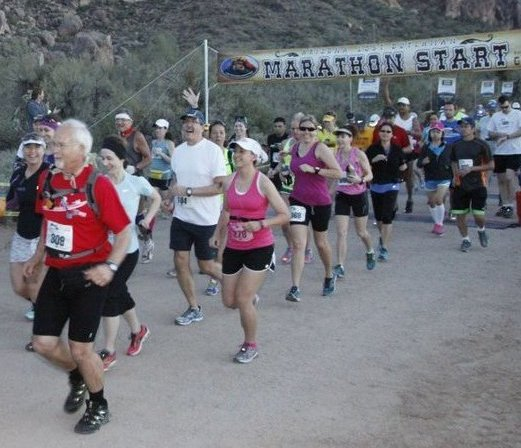 Lost Dutchman Marathon Start