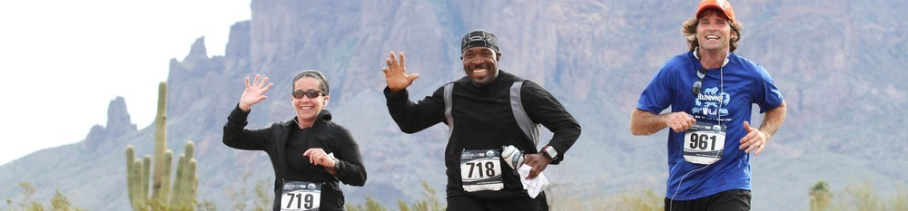 Lost Dutchman Marathon Events